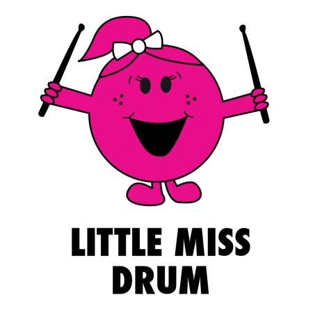 Child Little Miss Drum Tshirt