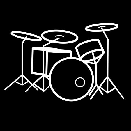 Child Drum Kit Tshirt