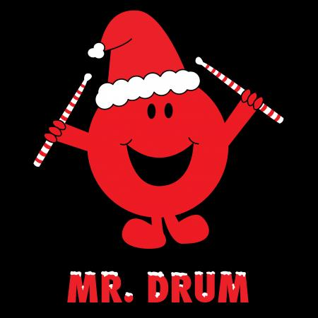 Mr Drum Christmas Tshirt