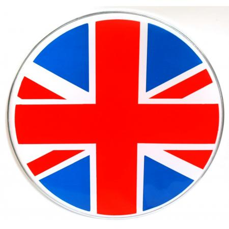 Graphic Bass Drum Heads - Flags